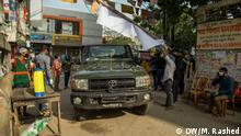 Authorities in Bangladesh have placed Dhaka's East Rajabazar area under lockdown for 14 days, starting from Tuesday midnight. Keywords: East Rajabazar, Dhaka, Lockdown, coronavirus