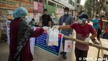 Bangladesch Ost Dhaka Lockdown Coronavirus