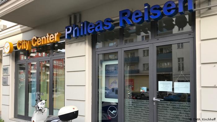 Agenţia de turism Phileas din Berlin (DW/A. Kirchhoff)
