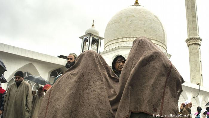 Devotees from across the Kashmir Valley at the Hazratbal Shrine situated in the Srinagar