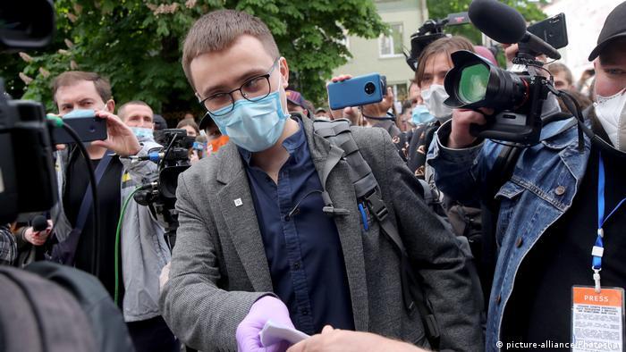 Сергей Стерненко, активист Правого сектора