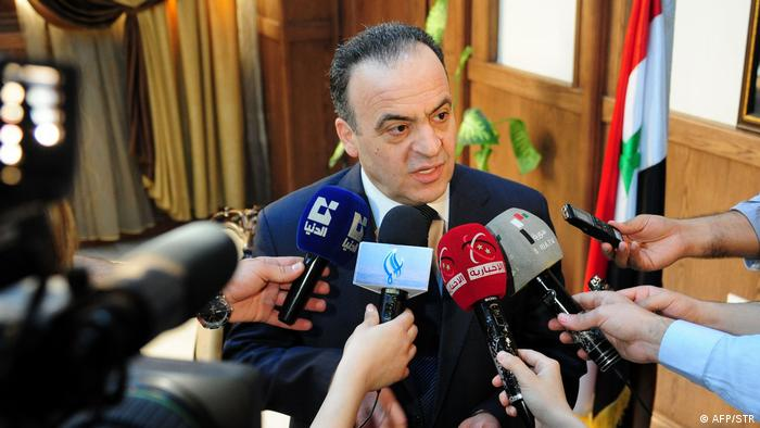 Syrian ex-Prime Minister Imad Khamis