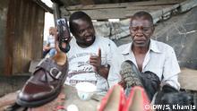 Tansania Einwohner von Dar es Salaam, Hassan Kindamba und Hashim Iddy