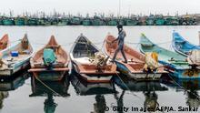 BdTD | Bild des Tages deutsch | Indien | Fischer in Chennai