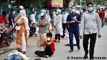 Bangladesch Dhaka | Coronavirus | Test-Zentrum