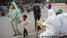 Bangladesch Dhaka | Coronavirus | Gesundheitscheck für Arme