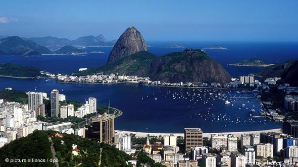 Blick auf den Zuckerhut in Rio de Janeiro (Foto: AP)