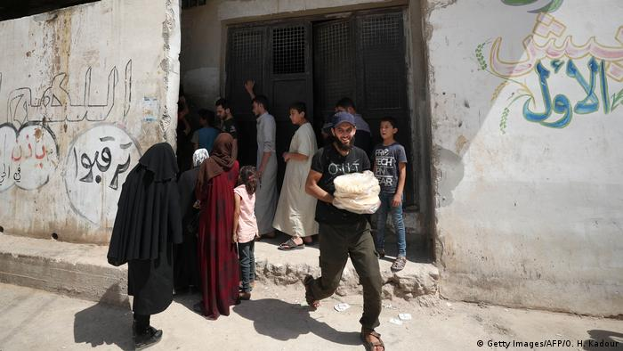 Syrien | Idlib | Wirtschaft | Währungskrise (Getty Images/AFP/O. H. Kadour)