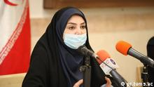 Iran Sima Sadat Lari, Sprecherin Gesundheitsministerium
