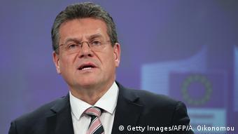 Maros Sefcovic Vizepräsident EU Kommission