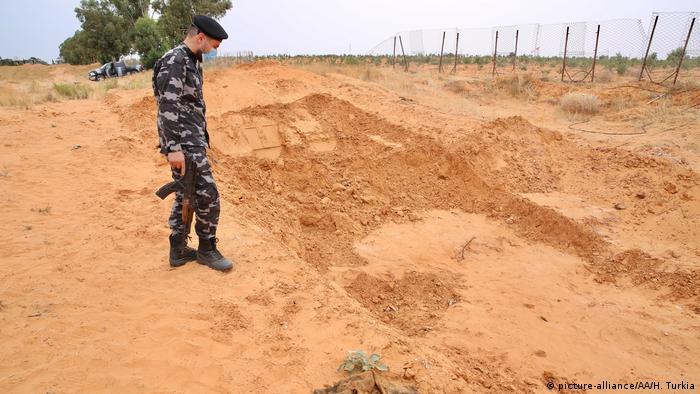Libyen Massengräber bei Tarhuna gefunden