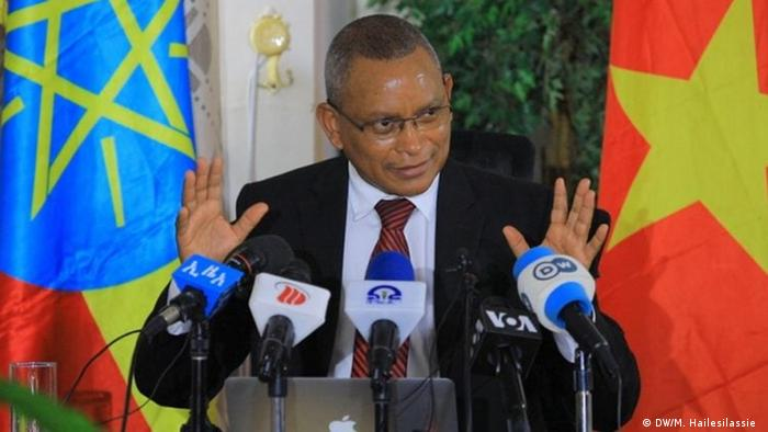 Debretsion Gebremichael is the leader of the Tigray People's Liberation Front