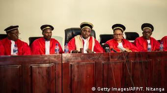 Les juges de la Cour constitutionnelle du Burundi