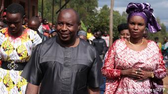 Burundi: Évarsite Ndayishimiye, et son épouse à Giheta (centre)