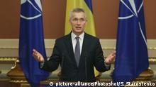 Symbolbild NATO - Ukraine | Stoltenberg in Kiew