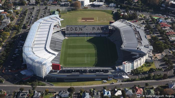 Im Nationalstadion Eden Park wurde Neuseelands Nationalmannschaft 2011 Weltmeister