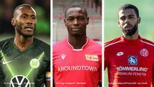 Bildkombo Fußballspieler | Josuha Guilavogui, Anthony Ujah und Jeremiah St. Juste