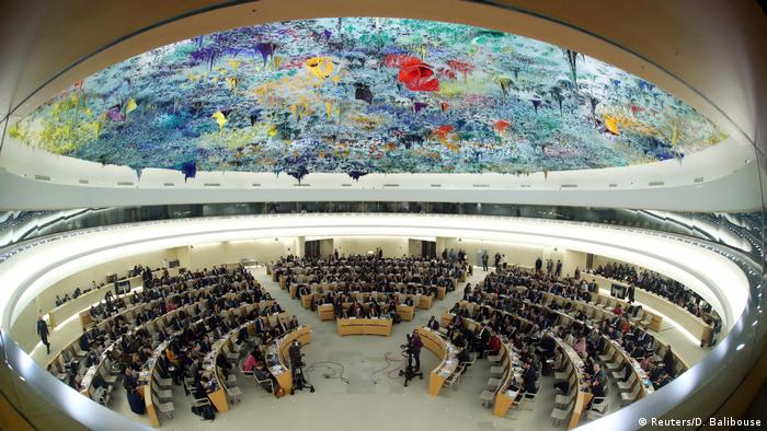 Schweiz, Genf: UN Human Rights Council