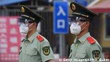 China Peking Neue Abriegelungen nach Corona-Ausbruch