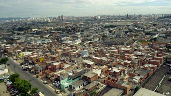Slum Favela in Sao Paulo Brasilien Flash-Galerie