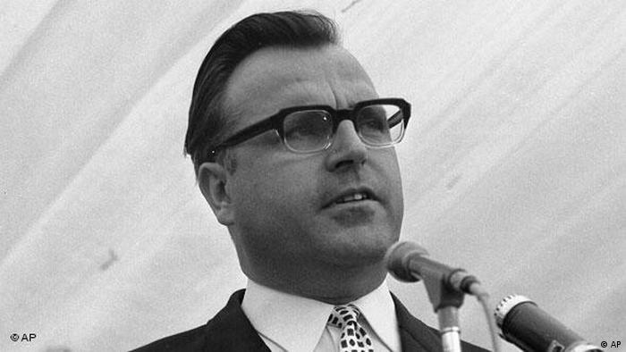 Гельмут Коль в 1967 году