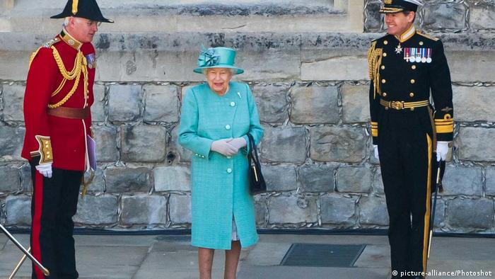 England Windsor Castle Parade Geburtstag Queen Elizabeth (picture-alliance/Photoshot)