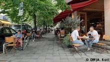 Albanien Tirana | Coronavirus | Cafés ohne Abstand