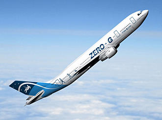 A 300 Zero-G Quelle: DW-TV
