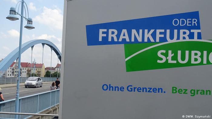 Most graniczny we Frankfurcie nad Odrą i Słubicach