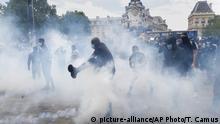 Frankreich Paris | Black Lives Matter | Demonstrationen