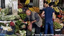 Syrien Damaskus | Wirtschaftskrise | Marktplatz