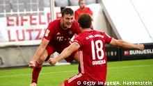 Fußball Bundesliga FC Bayern - Mönchengladbach
