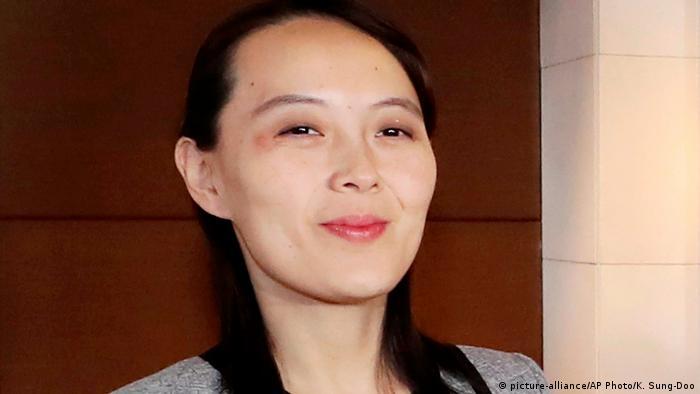 Kim Yo Jong Schwester von Kim Jong Un