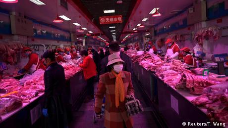 China Coronavirus Xinfadi Markt in Beijing (Reuters/T. Wang)