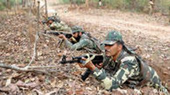 There are currently 50,000 police and paramilitary troops deployed to combat India's Maoists