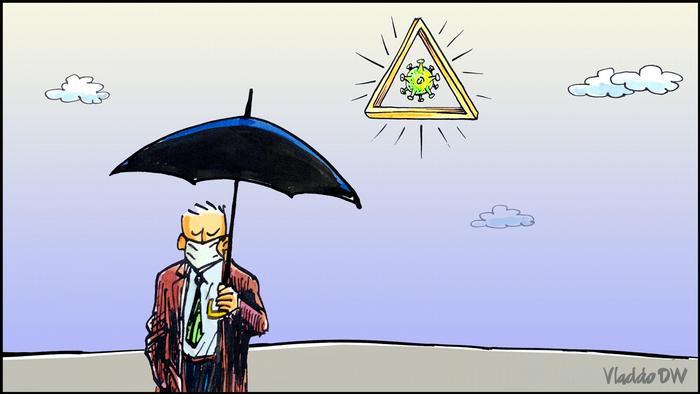 Новата нормалност - карикатура от Vladdo
