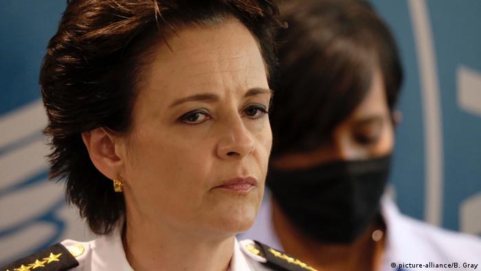 Atlanta police chief Erika Shields (picture-alliance/B. Gray)