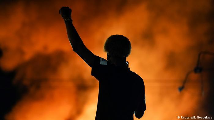USA I Polizeigewalt in Atlanta (Reuters/E. Nouvelage)