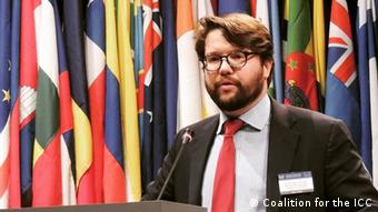 American. attorney Kip Hale worked on improving U.S.-ICC relations