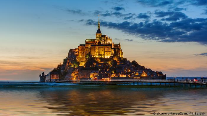 Mont-Saint-Michel in Normandy