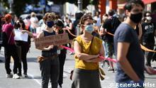 Deutschland Berlin | Black Lives Matter | Protest gegen Rassismus