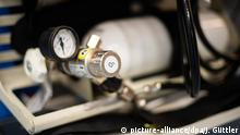 Deutschland Recklinghausen | Coronavirus | Sauerstoff für Beatmungsgeräte