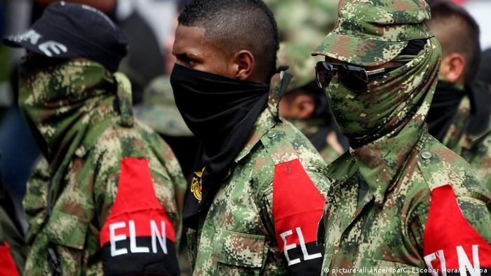 Kolumbien: ELN-Rebellen in Cali
