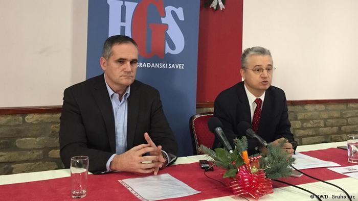 Tomislav Stanić (na fotografiji levo): Građanski korpus će glasati za HDF, a desnije opredeljeno biračko telo za DSHV
