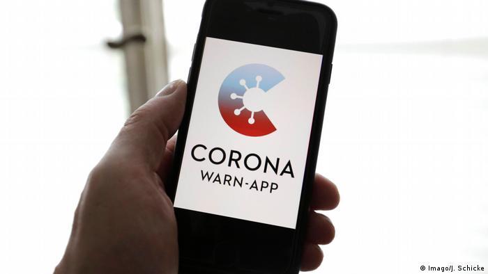 Symbolbild I Corona-Warn-App