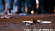 Frankreich Protest der Polizei in Paris