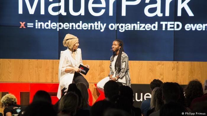 Nana Addison-Agyei, ghanaisch-deutsche Unternehmerin | TEDx event, Mauerpark