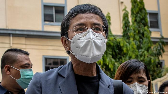 Maria Ressa philippinische Journalistin