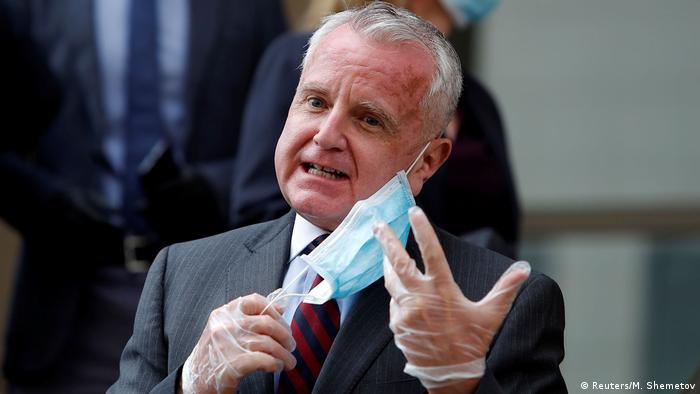 Der US-Botschafter in Moskau, John J. Sullivan, konnte Whelan im März im Gefängnis besuchen