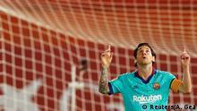Fußball Spanien La Liga RCD Mallorca v FC Barcelona Messi